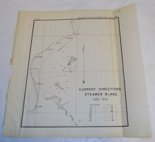 1890 Coast & Geodetic Survey Map/ CAPE HATTERAS NC to CAPE CANAVERAL FL, 1889 /B