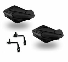 Powermadd Sentinel Handguards Guards Tri Mount Black / Black Utility ATV Can Am