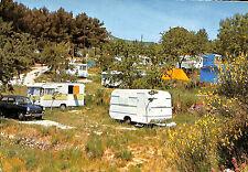 13 AUBAGNE CARTE POSTALE CAMPING CLAIRE-FONTAINE CARAVANES 1970