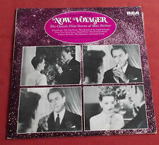 NOW, VOYAGER LP UK + LIVRET THE  BOF OST  CLASSIC FILM SCORES OF MAX STEINER