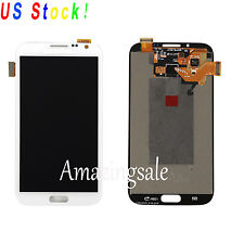 For Samsung Galaxy Note 2 i317 T889 i605 L900 LCD Screen Digitizer Touch White
