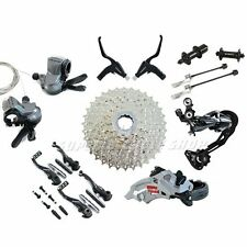 Shimano Alivio M4000 3x9 Speed Groupset MTB Bike Kit 7 piece