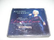 Willeke Alberti - Live In Carre Een Halve Eeuw Willeke * 2 CD BOX 1996 *