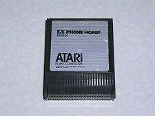E.T. Phone Home (1986 Atari Corp. label) cart 400/800/XL/XE - WORKS & GUARANTEED