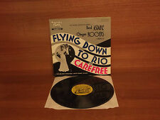 Fred Astaire & Ginger Rogers  Flying Down To Rio & Careree : Vinyl Album SH 2010