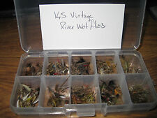 Collection of 145 assorted Vintage Trout Flies