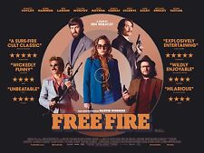 """Free Fire Poster Movie Silk POSTERS Wall Room Decor Prints 24x32"""" fEf2"""