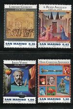 SAN MARINO 2005 ARTISTS WRITERS/SPACE/SHIP/BALLOON/SUBMARINE/DUCKS/FAIRY TALES