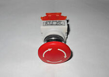 E-Stop Switch & 20Ft. Shielded 4 Lead 18G Cable CNC