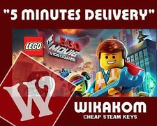The LEGO Movie - Videogame Steam Key PC Game Digital Download Code [EU/US/MULTI]