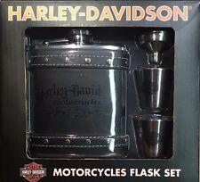 Harley Davidson Flask Gift Set w/ Free Shipping