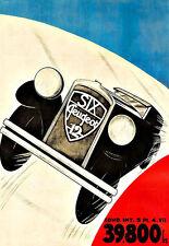 Arte del anuncio Peugeot 12 Motos Del Automóvil Coche Deco Auto cartel impresión