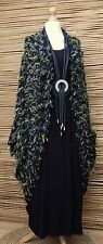 LAGENLOOK BEAUTIFUL STUNNING ECCENTRIC QUIRKY BATWING JACKET*BLACK*Size L-XL
