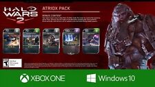 Halo Wars 2 Exclusive Atriox Blitz Pack XBOX ONE DLC Card HW2