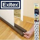 DOUBLE SIDED UNDER DOOR FOAM DRAUGHT EXCLUDER INSULATION SEAL STOP COLD AIR NEW