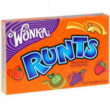 Willy Wonka RUNTS Theater Box Candy  6 oz