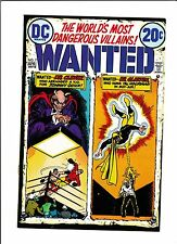 WANTED--THE WORLD'S MOST DANGEROUS VILLAINS  #7  [1973 FN+]  BOXING COVER!