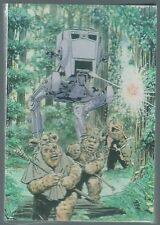 Star Wars Return Of The Jedi Ewok Concept Art Postcard Wholesale Pack Two New