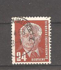 DDR Briefmarken 1952 Wilhelm Pieck II Mi 324 va Wz2 XII geprüfIt