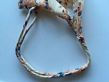 Women Girl Retro Chiffon Floral Bow Boho beach Braided scarf Hair head band Wrap