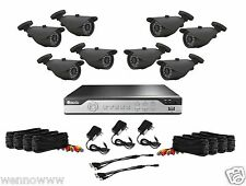 Zmodo 8Ch 1TB 960H Security DVR & QR-Code Remote Access w/ 8x 1000TVL HD Cameras