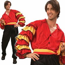 Adult Mens Rumba Spanish Latin Carnival Fancy Dress Costume Standard