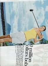 SP31 Clipping-Ritaglio 2005 Michelle Wie 10 Million dollars baby