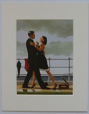 "Anniversary Waltz by Jack Vettriano Mounted Art Print 10"" x 8"""