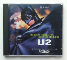 U2 Hold Me Thrill Me Kiss Me Kill Me 2 tracks CD SINGLE Batman 1995 US Print