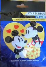 Disney Collectible Couples Mystery Pin Pack Contains 5 Randomly Selected Pins