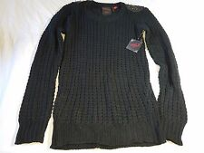 New York Yoki Womens Spiked Shoulder Sweater Size Large--NWT