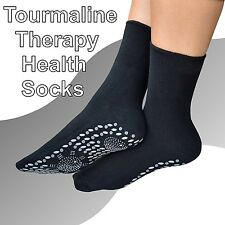Self Heating Tourmaline Health Socks (a pair) Cold Feet Problem Solution