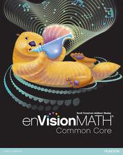 NEW ENVISION MATH COMMON CORE TEACHER EDITION GRADE 3 CD-ROM PEARSON eTEXT