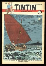Journal de TINTIN belge  1948   n°6  Couverture de Edgar P. JACOBS
