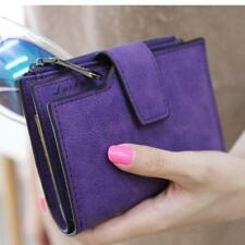 Women Mini Grind Magic Bifold Leather Wallet Card Holder Wallet Purse Flash Sale