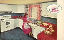 Capitol Kitchen Cabinets & Sinks, Roselle NJ New Jersey, Advertising Postcard