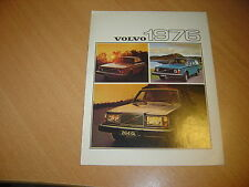 CATALOGUE gamme Volvo 1976 Angleterre