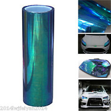 Chameleon Colorful Blue Auto Headlight Taillight Fog Light Vinyl Tint Film Sheet