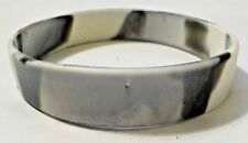 Gray & White Camouflage Rubber Cause Style Bracelet - No Text