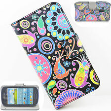 Hard Leather Wallet Phone Skin Cover Case For Samsung Galaxy S3 III Mini i8190