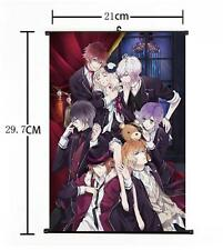 Hot Japan Anime DIABOLIK LOVERS Yui Whole Art Home Decor Poster Wall Scroll 07