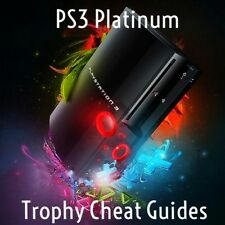 PS3 Platinum Trophy Cheat Guides For Any Games You Pick Please Read Description.