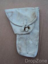 British Military Army White 58P Webbing Browning Pistol Holster /| 1968