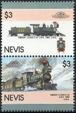 1882 D&RGW Class C16 2-8-0 Denver & Rio Grande Train Stamps / LOCO 100