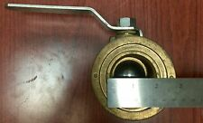 "H.F. 600WO 2"" , One Way Ball Valve With Lever"