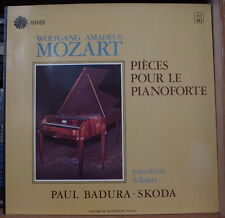 PAUL BADURA-SKODA/MOZART PIECE POUR LE PIANOFORTE FRENCH LP ASTREE
