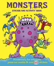 Scary Activity: Monsters (Giant Sticker & Activity Fun), , New Book
