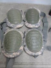 Two Pair!  US Army McGuire-Nicholas ACU Knee Pads Good Condition FUNCTIONAL