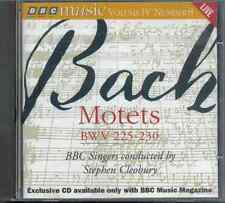 JS BACH - MOTETS BWV 225-230 / BBC SINGERS / STEPHEN CLEOBURY - BBC CD (1996)