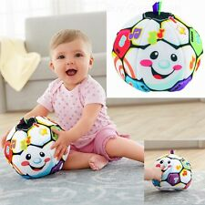 Soccer Ball Laugh Baby Toddlers Kids Boy Girl Home Indoor Play Game Action Toy